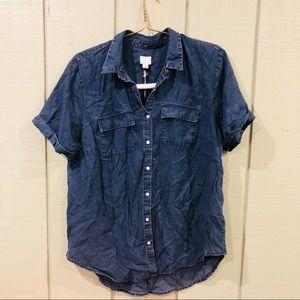 Cute denim style shirt size XL